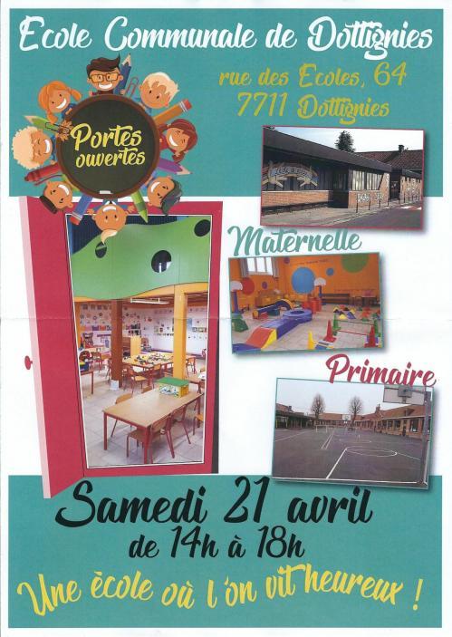 Portes ouvertes Ecole Communale - 2018