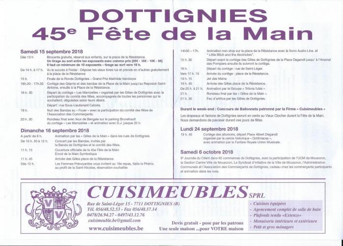 Programme fdm 2018