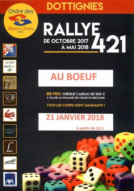 Rallye 421 Boeuf 2018