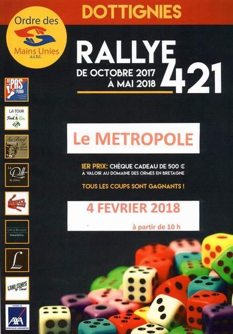 Rallye 421 Metropole 04-02-18