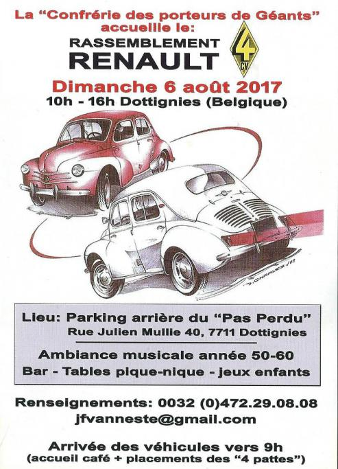 Rassemblement Renault - 2017