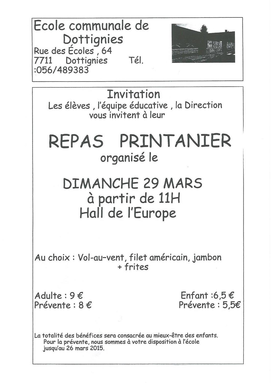 Repas Printanier 2015