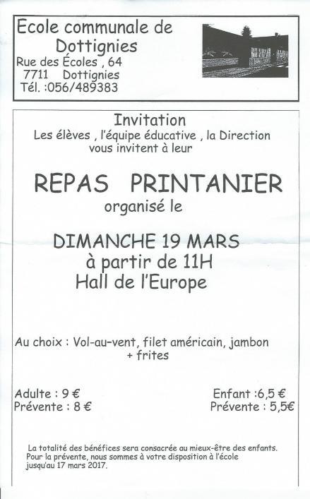 Repas Printanier - 2017