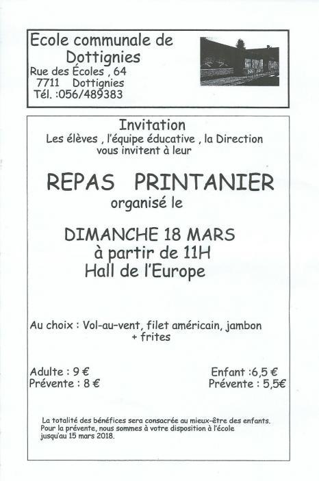 Repas Printanier - 2018