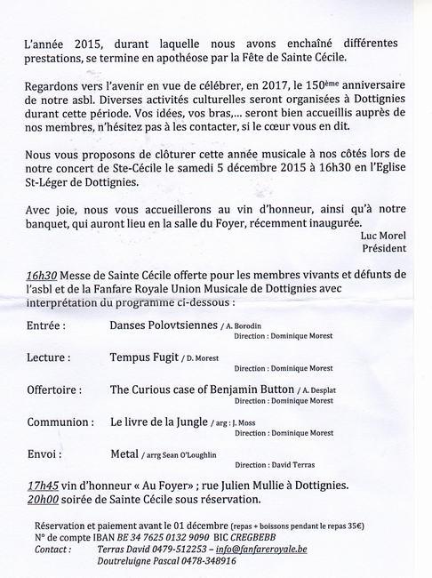 Sainte-Cécile 2015 - 1