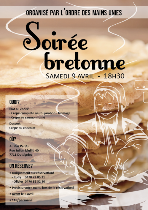 Soirée Bretonne 09-04-16