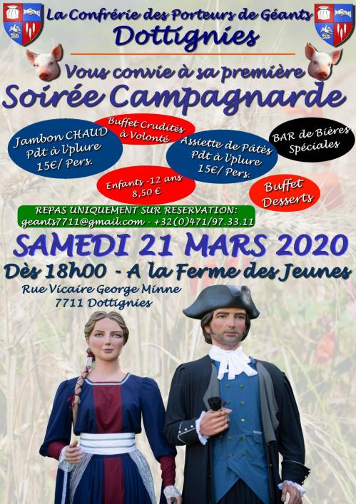 Soiree campagnarde 2020