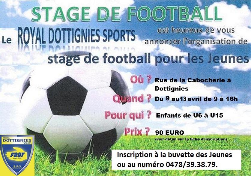 Stage de foot - 2018